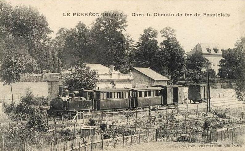 gare du chemin de fer du Beaujolais