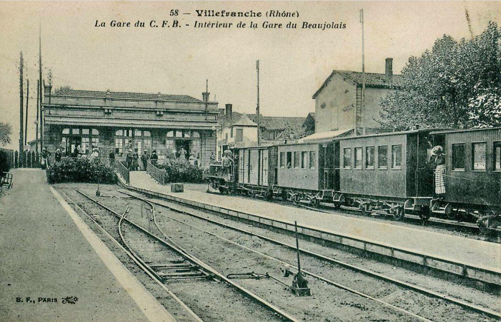 Gare de Villefranche-sur-Saône (Rhône)