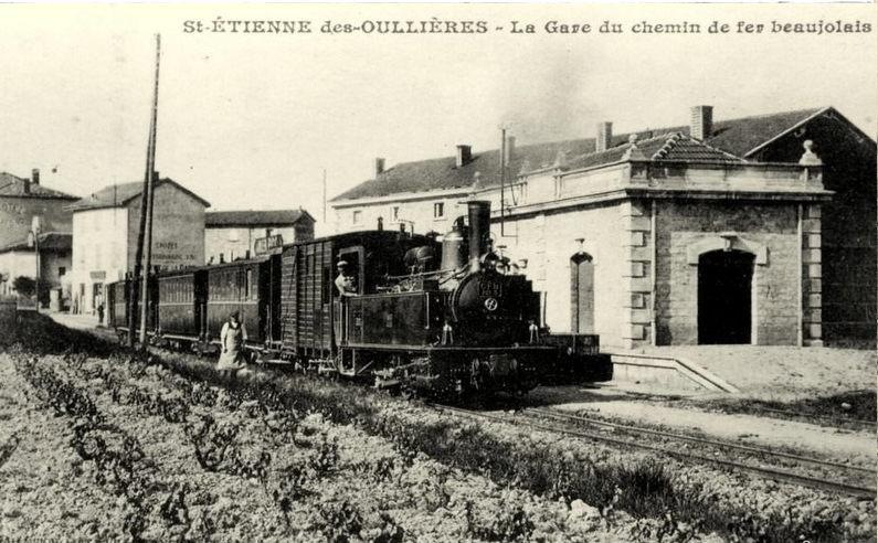 locomotive à Saint-Etienne-des-Ouillières