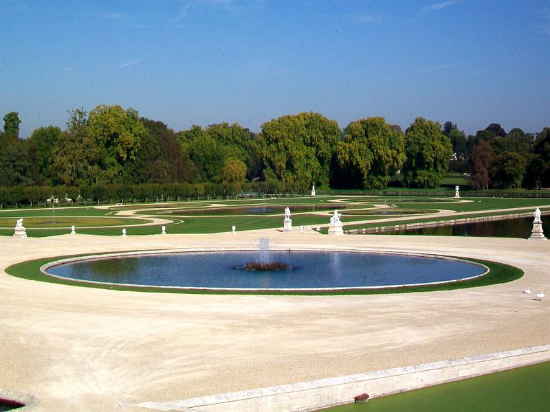 fontaines du chateau de Chantilly